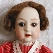 Gebruder Heubach Antique German Bisque Character Doll