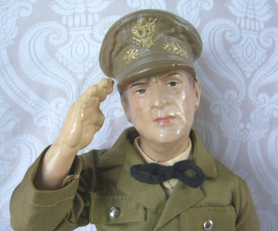 General MacArthur Composition Character Doll by Ralph A. Freundlich