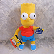 Bart Simpson Bean Bag Doll by Applause