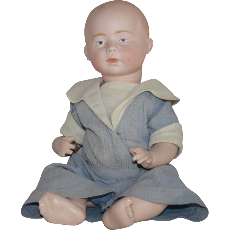 Swaine Bisque Head Character Baby DI