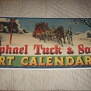 Original Raphael Tuck & Sons Calendar Art Advertisement