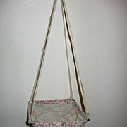 Adorable Cloth Swing for Vintage or Antique Doll