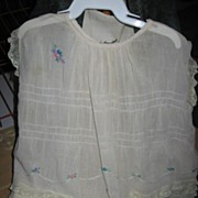 Baby Dress with Hand Knotted Floral Accents Adorable!!
