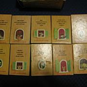 1940s Set of Tiny Animal Stories Tiny Golden Books by Kunhardt