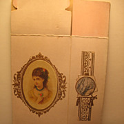 2 Chromolithographed Victorian Boxes with Lovely Ladies