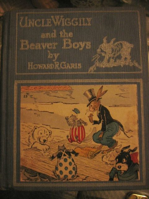 Rare Uncle Wiggily and the Beaver Boys Book