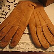 Vintage Children's Soft Leather Gloves Just Like Moms