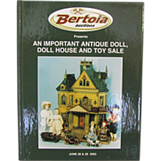 Book: Antique Doll Dollhouse and Toy Sale Catalog