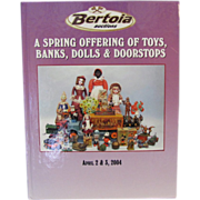 Book: A Spring Offering of Toys, Banks, Dolls Doorstops