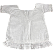 Antique Cotton Chemise for Larger Doll Factory Made