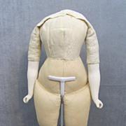 Doll Body Parian Arms Ballerina Feet 14 Inches Tall