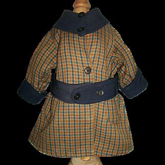 Nice Doll Vintage Wool Coat Dress / Dress
