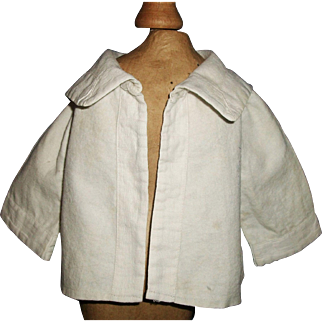 Nice Early Vintage Flannel Doll Jacket