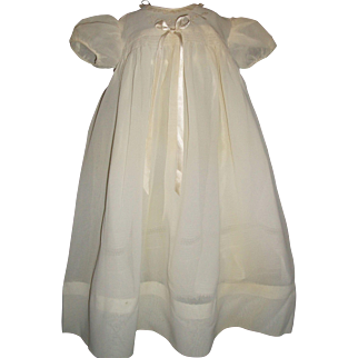 Pretty Crepe Dress for A Baby Doll / Child Doll