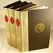 1930 Eastern Love, Powys Mathers, Ill Franz Felix, 3 Volumes, Numbered Limited Edition