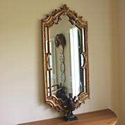 Stunning Vintage Gilt wood Ornate Mirror