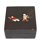 Set of antique Chinese nesting coromandel boxes