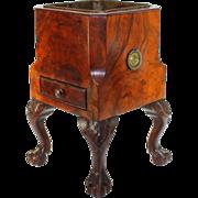 Unique George III Mahogany Wine Cooler
