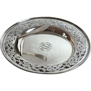 Unger Bros Sterling Silver Caviar Dish with Implement