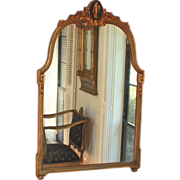 Antique Gilded Neoclassical Mirror
