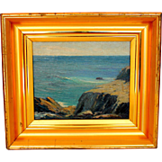 Seascape Oil  Painting after William Ritschel (1864-1949)