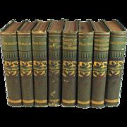 The Works of George Eliot 8 Volumes, Fine Bindings