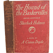 The Hound of the Baskervilles by Sir Arthur Conan Doyle 1st edition 1902