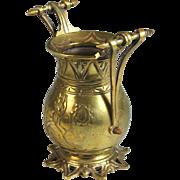 Antique Bronze Urn with Handles Very Unique