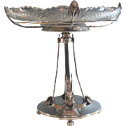 Antique Gorham Silverplate Centerpiece Egyptian Revival Silver Plate