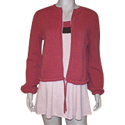 Vintage 1960's Tennis Dress and Jacket By Hampton Court Knits