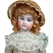 "Precious 17"" Closed Mouth Kestner German Fashion ""Poupee"" Doll"