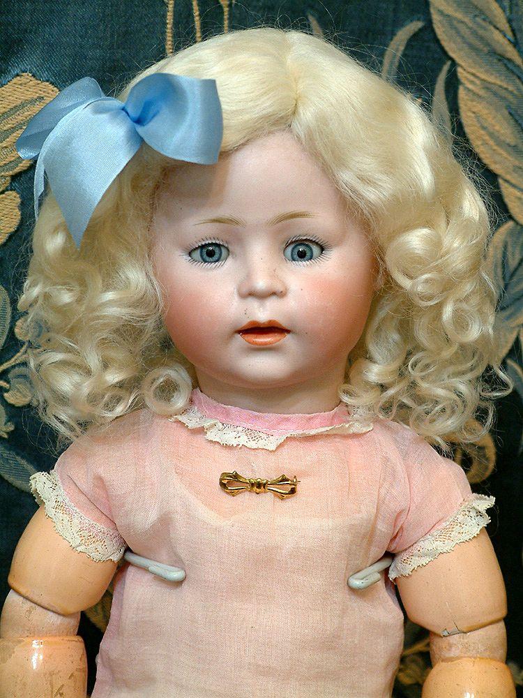 """Awwe"" Inducing 17"" Simon & Halbig 1488 Rare Character Child Doll SO CUTE!"