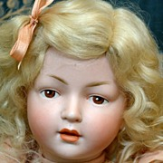"14"" Extremely Rare Hertel & Schwabb 140 Character Toddler With Extremely Expressive Face!"