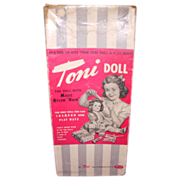 1950s Ideal Toni Original Doll Box!