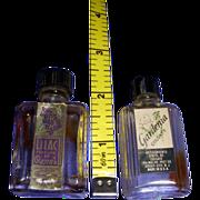 Vintage Pair of Mini Perfume Bottles!