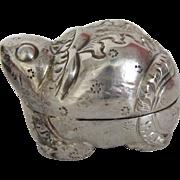 Thai Silver Repoussé Chipmunk Box Charm
