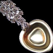 Ornate George Shiebler Sterling Silver Bon Bon Spoon