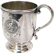 Ball Black & Co. English Sterling Silver Medallion Cup