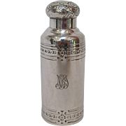 Tiffany & Co. Sterling Silver Perfume or Cologne Bottle, circa 1890