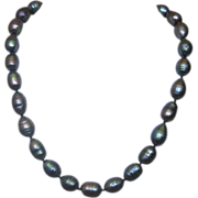 """17"""" Single Strand of Baroque Tahitian Cultured Pearls"""
