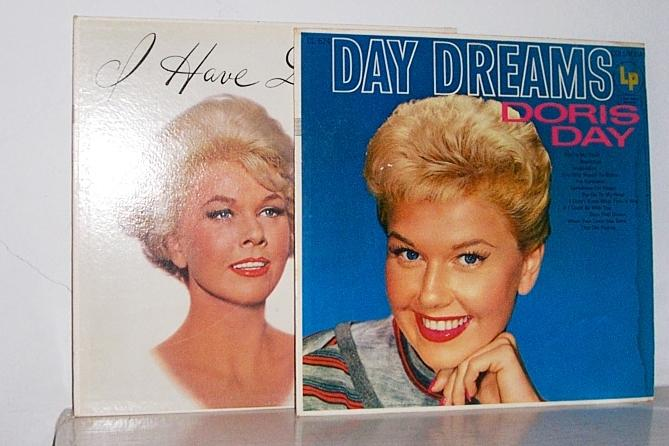 2 Doris Day Record LP's