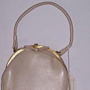 Bagcraft of London leather handbag circa 1949