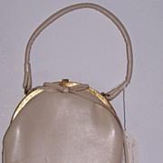 Bagcraft of London leather handbag circa 1949