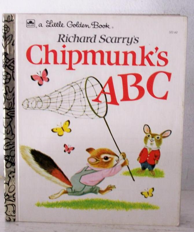 Chipmunk's ABC by Richard Scarry Mint!