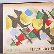 Aquarelle by Nay German Art Book