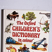 The Oxford Children's Dictionary in colour (1979)