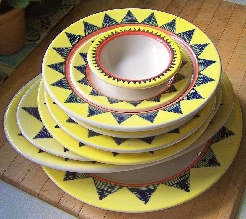 (12) Pieces Homer Laughlin Restaurant Ware China platters, plates, bowls