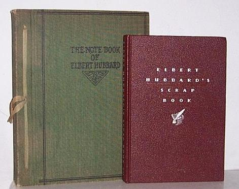 Two Elbert Hubbard Roycrofter books 1st editions Hand Crafted