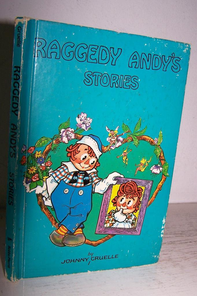 Raggedy Andy's Stories by Johnny Cruelle 1948