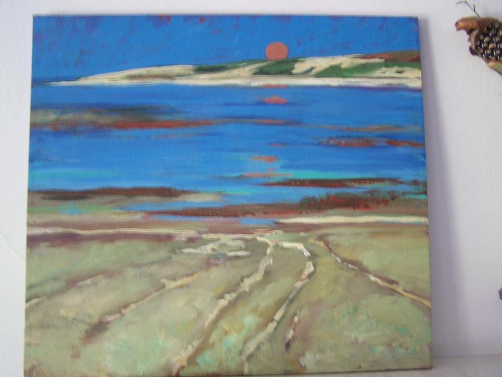 Signed Original Plein Art Painting by Ami Magill